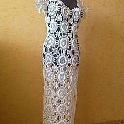 """Одежда ручной работы. Ярмарка Мастеров - ручная работа Платье """" белый ажур"""". Handmade."""
