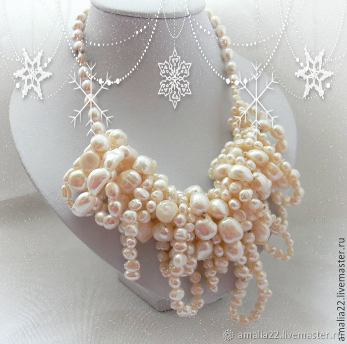 Necklace 'My Precious' Pearls Baroque freshwater, Necklace, Moscow,  Фото №1