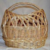 Для дома и интерьера handmade. Livemaster - original item Bag-basket made of twigs