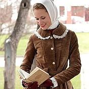 """Одежда ручной работы. Ярмарка Мастеров - ручная работа Пальто """"Осеннее платье"""". Handmade."""