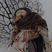 Куклы и игрушки ручной работы. Ярмарка Мастеров - ручная работа Кукла-скрутка Старуха Ворона. Handmade.