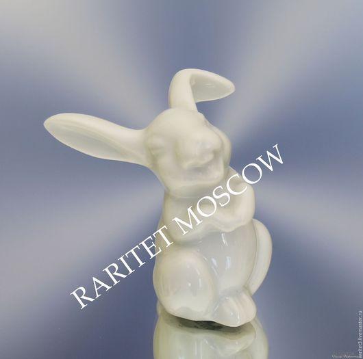 Винтажные предметы интерьера. Ярмарка Мастеров - ручная работа. Купить Заяц кролик Розенталь Rosenthal Германия 4. Handmade. Статуэтка