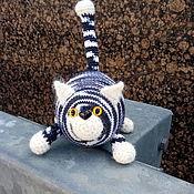 Куклы и игрушки handmade. Livemaster - original item Cat fatty linked manually. Handmade.