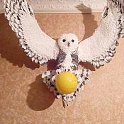 """Ночники ручной работы. Ярмарка Мастеров - ручная работа Ночники: Ночник """" Полярная сова"""". Handmade."""
