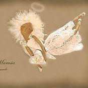 """Куклы и игрушки ручной работы. Ярмарка Мастеров - ручная работа """"Ангел нежных чувств"""" - авторская кофейная куколка. Handmade."""