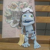 Куклы и игрушки ручной работы. Ярмарка Мастеров - ручная работа Крейзи Фрог. Handmade.