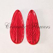 Материалы для творчества handmade. Livemaster - original item Silicone mold (Weiner) leaf, Comfrey,bilateral. Handmade.
