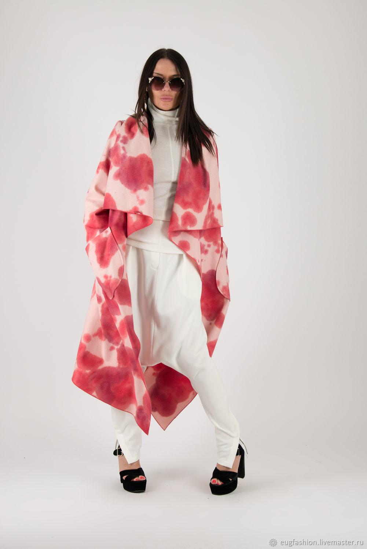 Bright, fashionable cashmere coat-CT0032CA, Coats, Sofia,  Фото №1