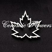 Материалы для творчества handmade. Livemaster - original item Cutters Leaf canadian Maple, plastic. Handmade.
