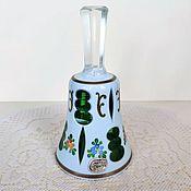 Винтаж handmade. Livemaster - original item Bell Bohemia double-layer glass 50-60 gg. Handmade.