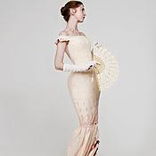 """Одежда ручной работы. Ярмарка Мастеров - ручная работа Платье """"Чайная роза"""" бальное историческое. Handmade."""