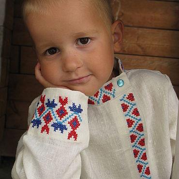 Русский стиль ручной работы. Ярмарка Мастеров - ручная работа Народные костюмы: русский костюм для мальчика. Handmade.