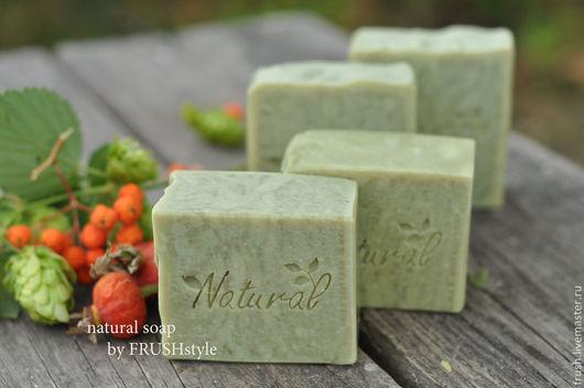 Мыло ручной работы. Ярмарка Мастеров - ручная работа. Купить АЛЕППСКОЕ мыло натуральное. Handmade. Хаки, мыло для детей
