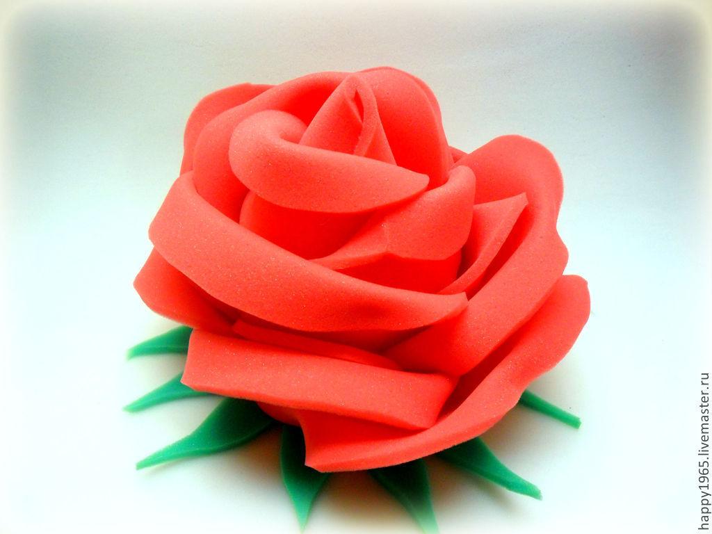 """Шапочка из поролона """"Роза"""" – купить в интернет-магазине на ... - photo#36"""