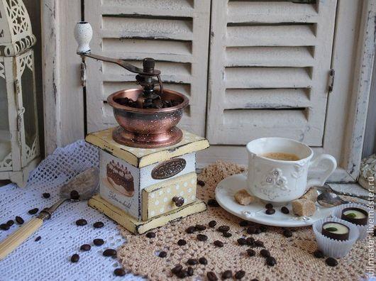 """Кухня ручной работы. Ярмарка Мастеров - ручная работа. Купить Кофемолка """"Chocolats"""". Handmade. Кофемолка, интерьер кухни, прованс"""