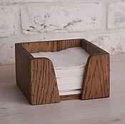 Для дома и интерьера handmade. Livemaster - original item Napkin holder 125 mm. Handmade.