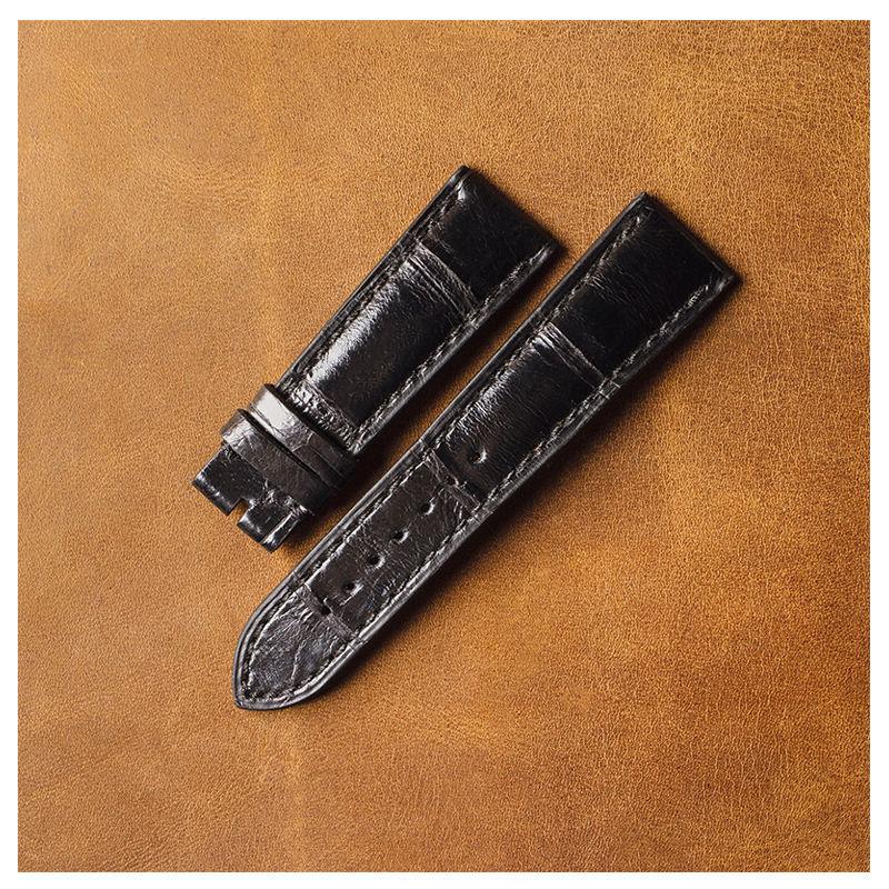Watchband crocodile leather, Watch Straps, St. Petersburg,  Фото №1