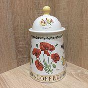 Винтаж ручной работы. Ярмарка Мастеров - ручная работа «Ботаническая» большая банка в оригинальной коробке, Англия. Handmade.