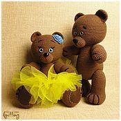 Куклы и игрушки handmade. Livemaster - original item Soft toys: Mishanya and Manyasha - a sweet couple. Handmade.