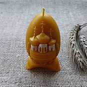Сувениры и подарки ручной работы. Ярмарка Мастеров - ручная работа Свеча пасхальная. Handmade.