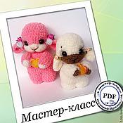 Материалы для творчества handmade. Livemaster - original item Scheme: Express sheep or souvenir for 2 hours. Description of knitting. Handmade.