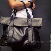 Сумки и аксессуары handmade. Livemaster - original item BAG OF GENUINE LEATHER. Handmade.