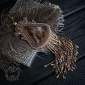 Украшения ручной работы. Ярмарка Мастеров - ручная работа Кулон с агатом. Handmade.