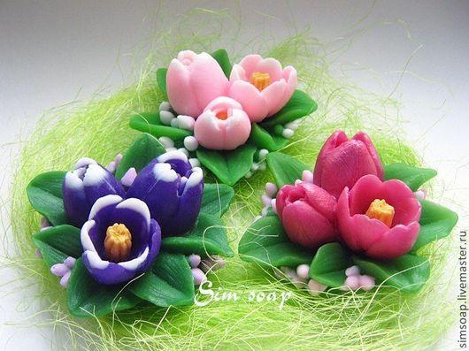 Весенний букет тюльпанов В наличии - 1 шт.