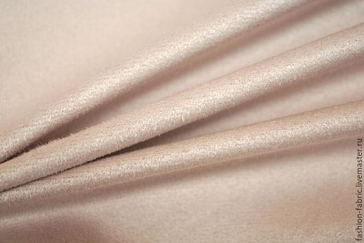 Шитье ручной работы. Ярмарка Мастеров - ручная работа. Купить Замша двусторонняя нежно-розовая PRT 11031713 Италия Цена за метр. Handmade.
