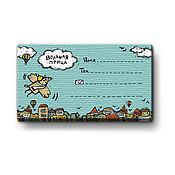Подарки к праздникам ручной работы. Ярмарка Мастеров - ручная работа Набор визиток «Вольная птица». Handmade.