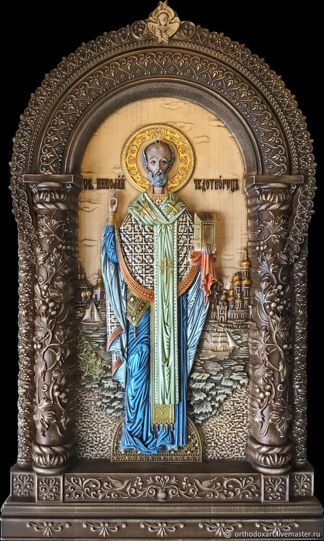 St. Nicholas, Icons, Moscow,  Фото №1