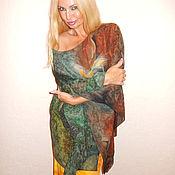 Одежда ручной работы. Ярмарка Мастеров - ручная работа блуза- Экзотика 2. Handmade.