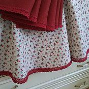 Для дома и интерьера handmade. Livemaster - original item Linen table linens