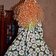 Куклы Тильды ручной работы. Тильда,,Ромашковая Дашка,,. Елена (elenadollworld). Ярмарка Мастеров. Тильда, цветы, атласные розы