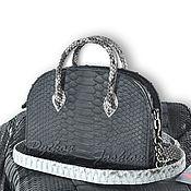 Сумки и аксессуары handmade. Livemaster - original item Python CARTI handbag. Handmade.