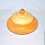 Посуда handmade. Livemaster - original item The jug lid wooden Box made of natural Cedar K8. Handmade.