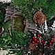 Интерьерные композиции ручной работы. В лесной глуши, в дали от суеты..... Юля Черникова Сказки старого леса. Ярмарка Мастеров.