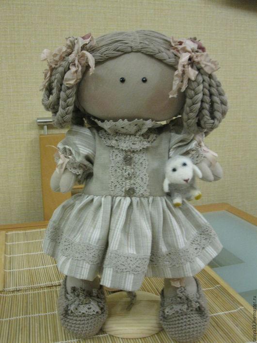 Куклы тыквоголовки ручной работы. Ярмарка Мастеров - ручная работа. Купить Кукла текстильная Амалия. Handmade. Кукла текстильная, ленты