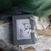 "Канцелярские товары ручной работы. Ярмарка Мастеров - ручная работа Блокнот""Provence"". Handmade."