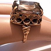 Винтаж handmade. Livemaster - original item Ring a TOPAZ ring vintage GERMANY 1960s vintage .. Handmade.