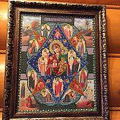 Картины и панно ручной работы. Ярмарка Мастеров - ручная работа Неопалимая Купина. Handmade.