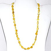Работы для детей, handmade. Livemaster - original item Beads from natural amber. Handmade.