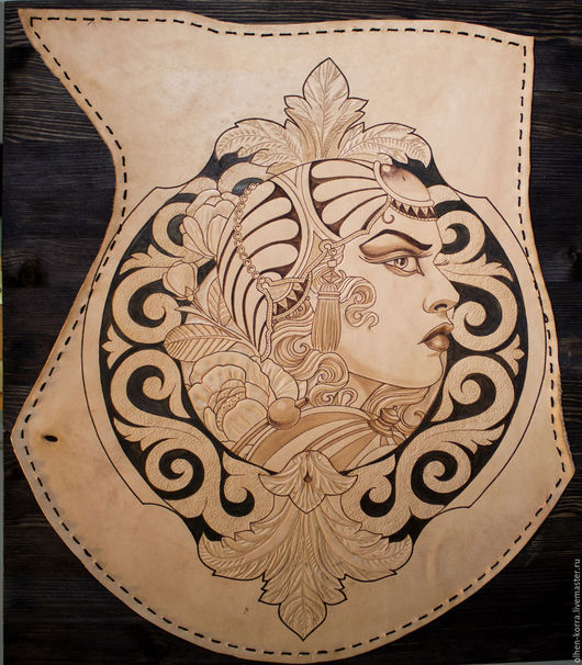 Люди, ручной работы. Ярмарка Мастеров - ручная работа. Купить Neo-Traditional 152. Handmade. Комбинированный, подарок девушке