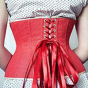 """Одежда ручной работы. Ярмарка Мастеров - ручная работа Корсет """"Polka"""". Handmade."""