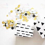 Подарки к праздникам ручной работы. Ярмарка Мастеров - ручная работа Бумажный конфетти. Handmade.
