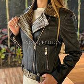 Одежда handmade. Livemaster - original item Female jacket from Python. Handmade.