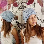 Аксессуары ручной работы. Ярмарка Мастеров - ручная работа шапка ручной вязки. Handmade.