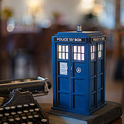Для дома и интерьера handmade. Livemaster - original item TARDIS lamp. Handmade.