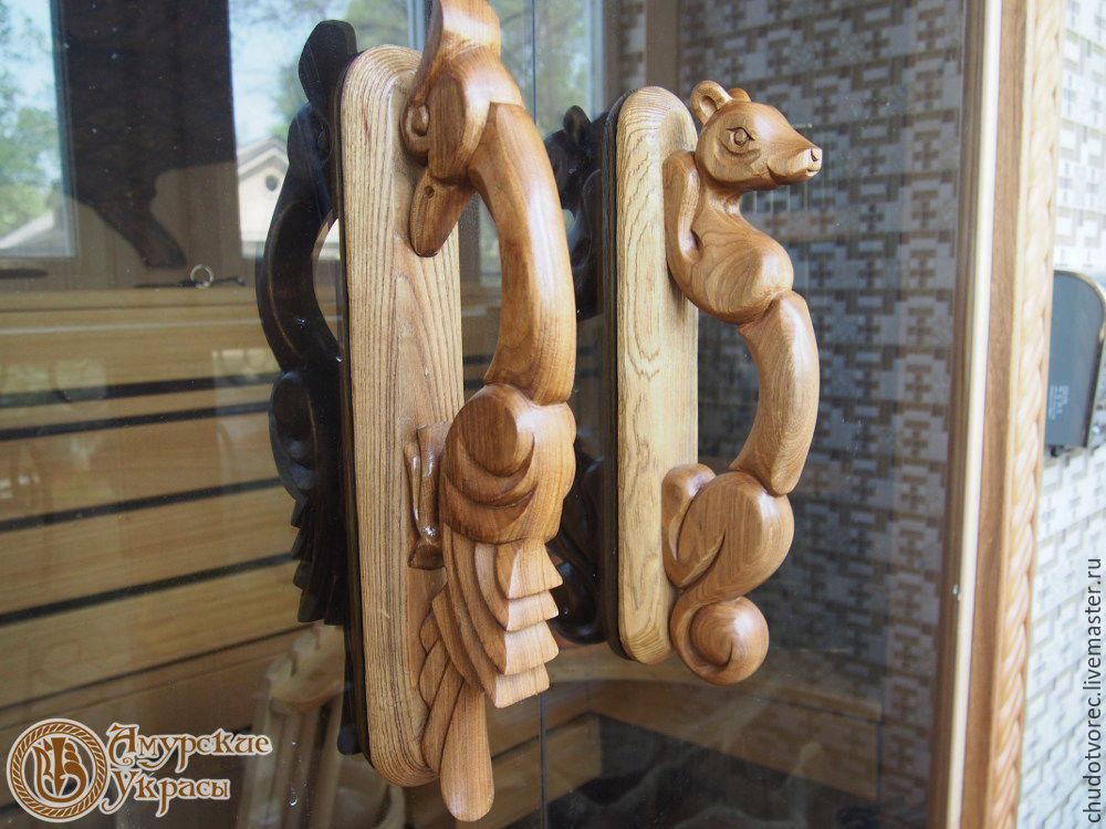 Резные изделия из дерева ручной работы цена