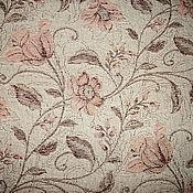 """Для дома и интерьера ручной работы. Ярмарка Мастеров - ручная работа Покрывало из льна """"Розовые цвет"""" 140х 205см.. Handmade."""